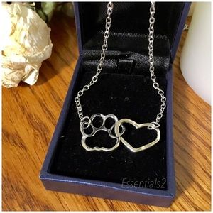 Jewelry - 🐾 HOT SELLING PAWS 925 Silver pl Link Hearts
